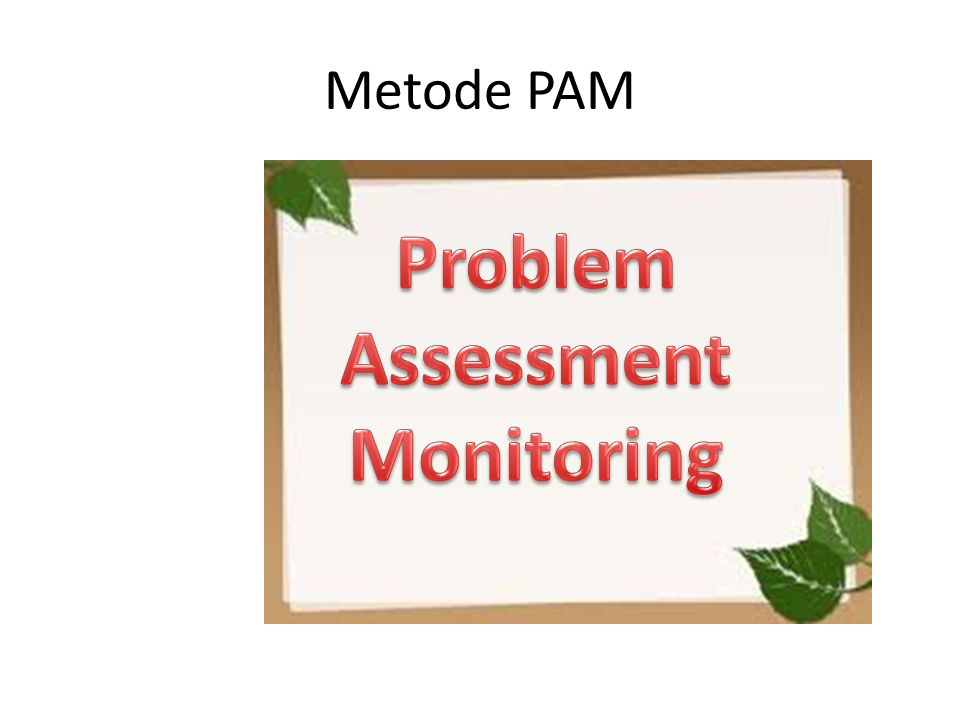Problem Assessment Monitoring