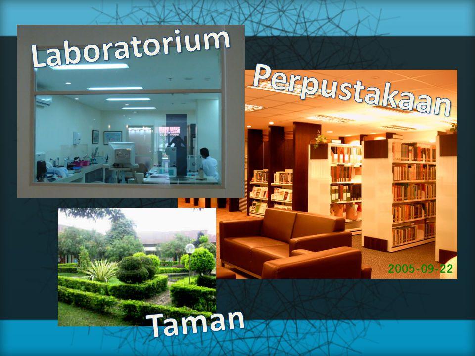 Laboratorium Perpustakaan Taman