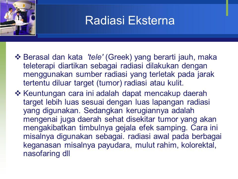 Radiasi Eksterna