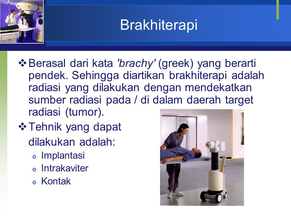 Brakhiterapi