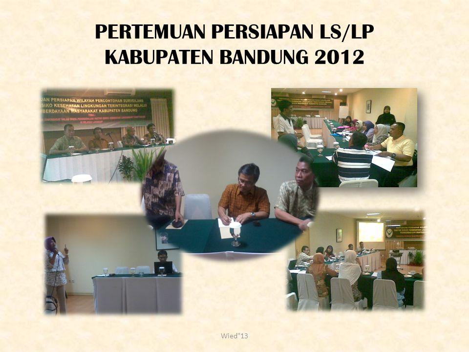PERTEMUAN PERSIAPAN LS/LP KABUPATEN BANDUNG 2012