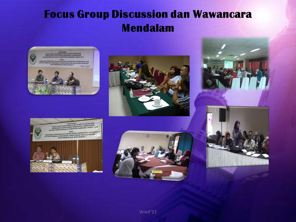Focus Group Discussion dan Wawancara Mendalam