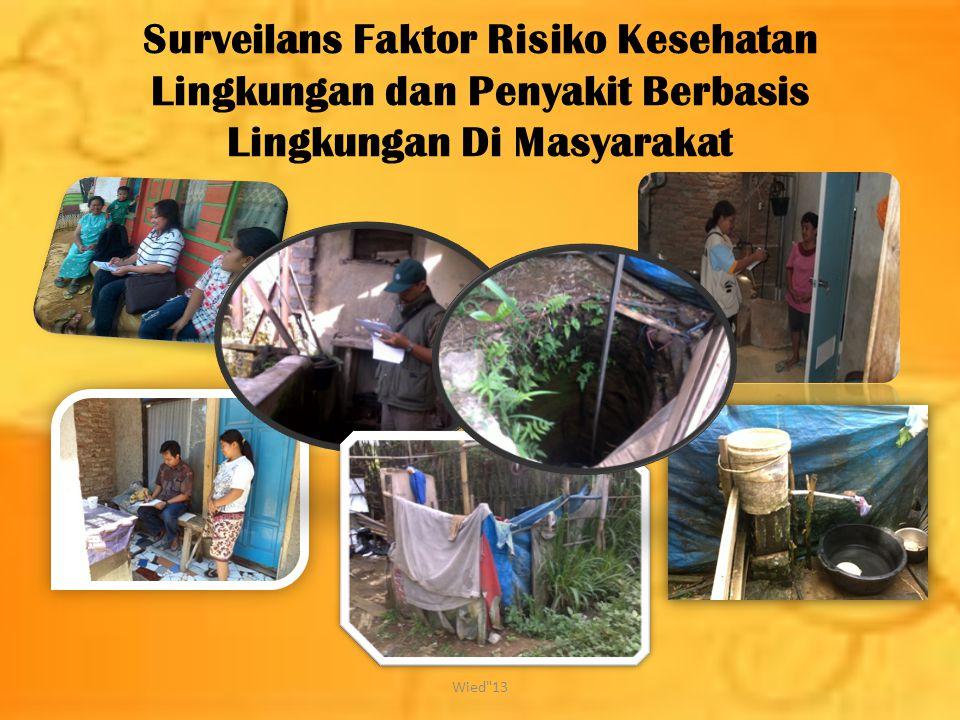 Surveilans Faktor Risiko Kesehatan Lingkungan dan Penyakit Berbasis Lingkungan Di Masyarakat