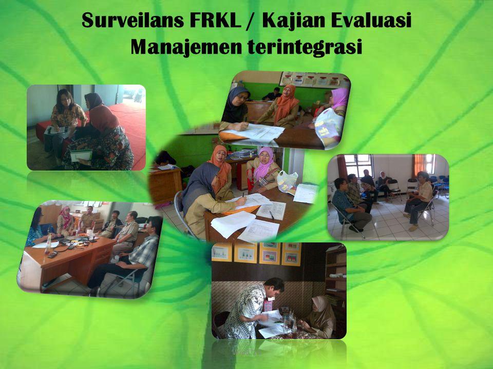 Surveilans FRKL / Kajian Evaluasi Manajemen terintegrasi