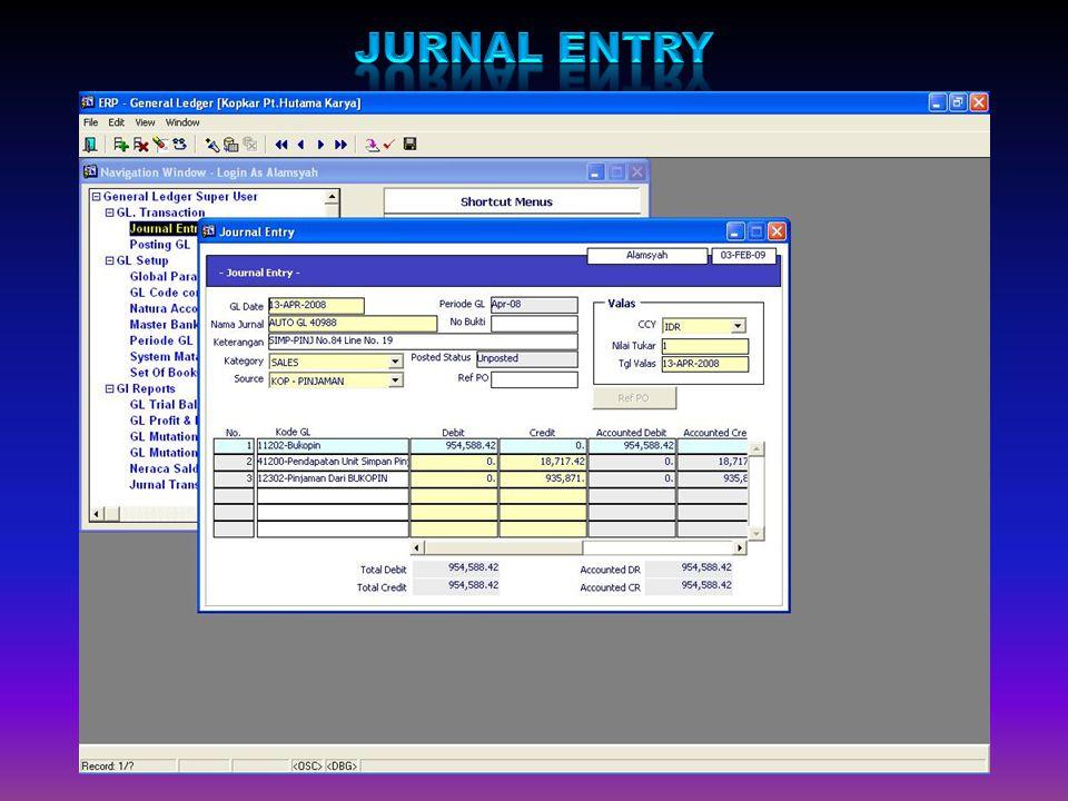 Jurnal Entry
