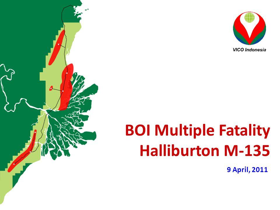 BOI Multiple Fatality Halliburton M-135