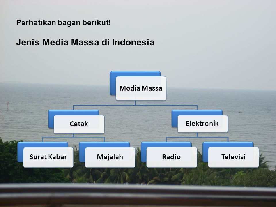 Jenis Media Massa di Indonesia