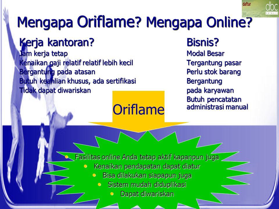Mengapa Oriflame Mengapa Online