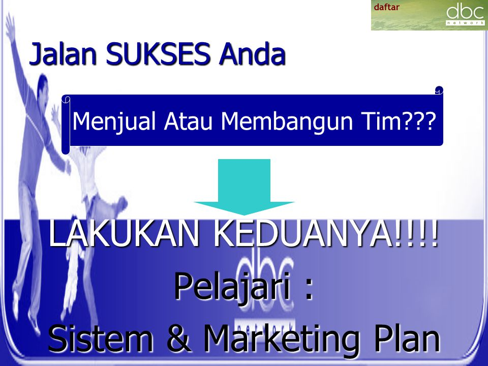 Sistem & Marketing Plan