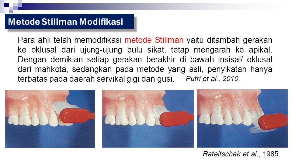 Metode Stillman Modifikasi