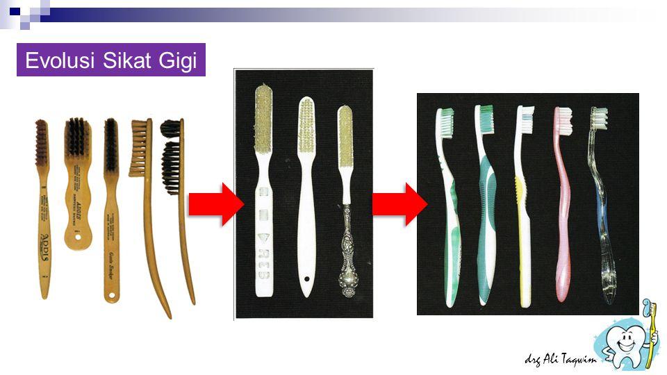 Evolusi Sikat Gigi drg Ali Taqwim