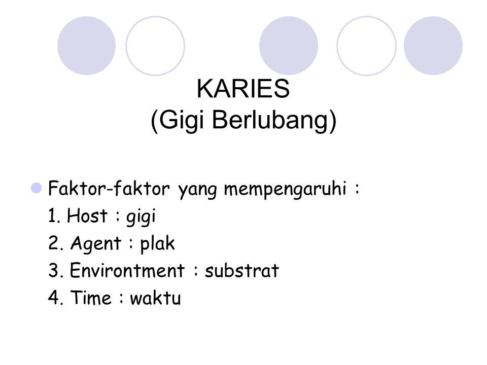 KARIES (Gigi Berlubang)