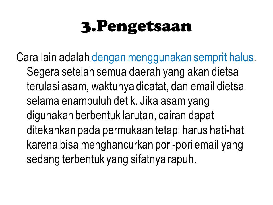 3.Pengetsaan