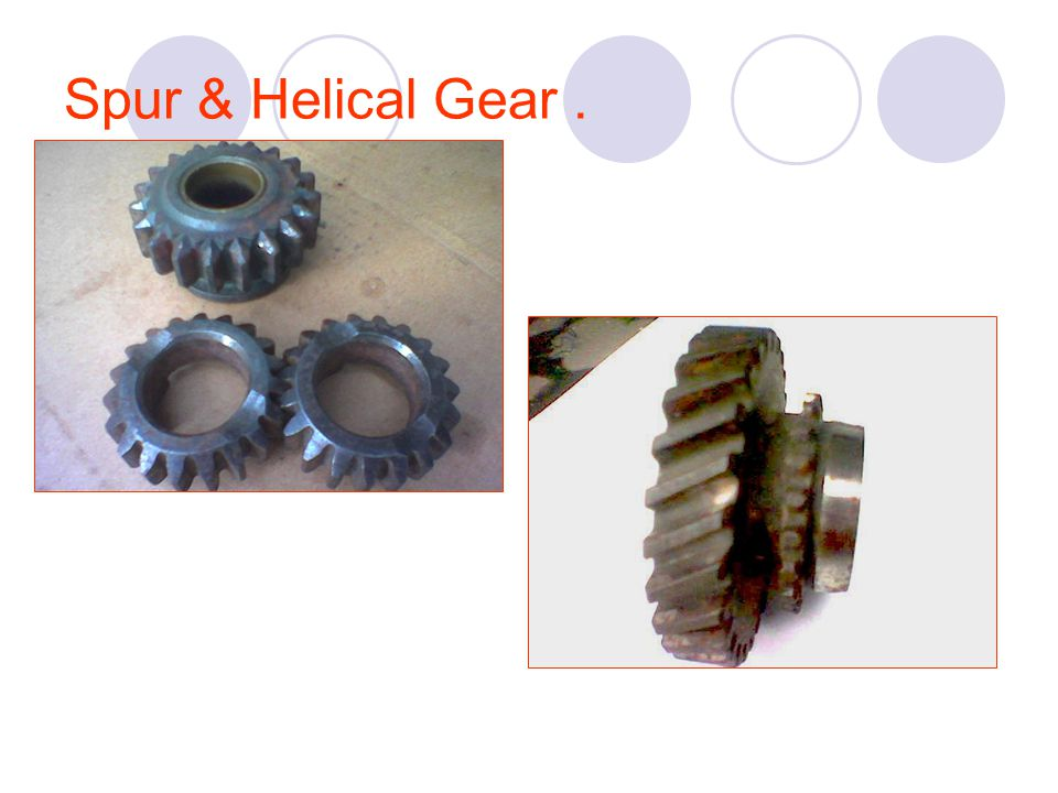 Spur & Helical Gear .