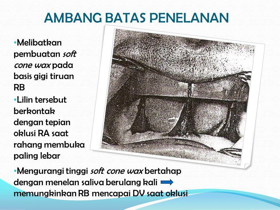 AMBANG BATAS PENELANAN
