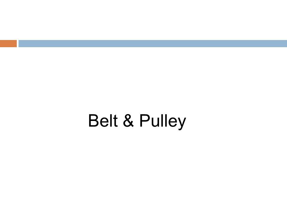 Belt & Pulley