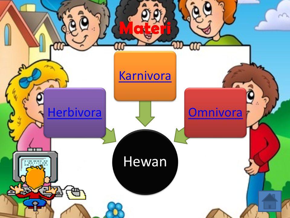 Materi Hewan Herbivora Karnivora Omnivora