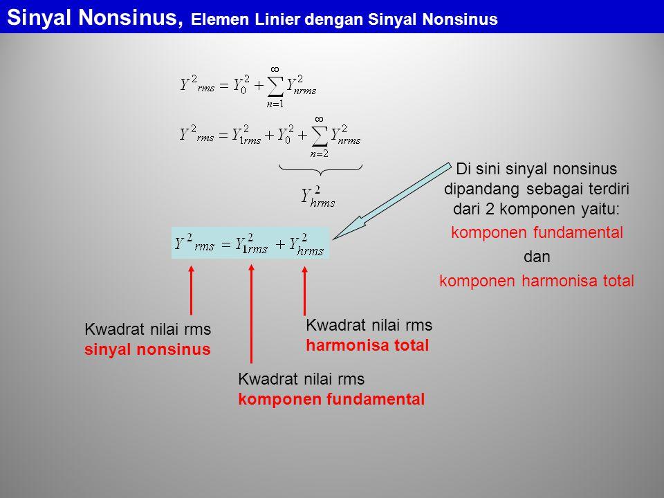 komponen harmonisa total