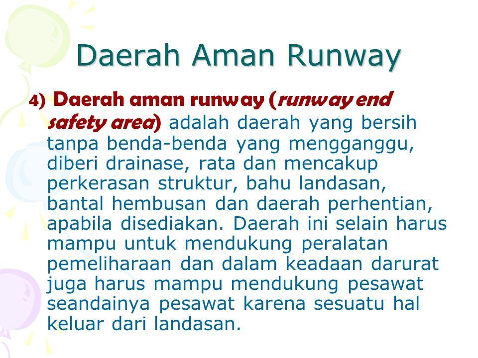 Daerah Aman Runway