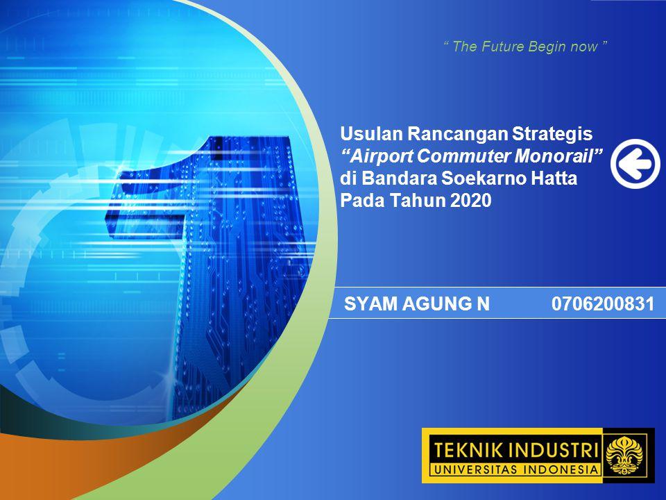 Usulan Rancangan Strategis Airport Commuter Monorail di Bandara Soekarno Hatta Pada Tahun 2020