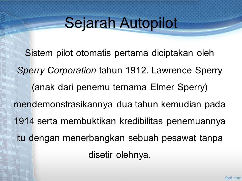 Sejarah Autopilot
