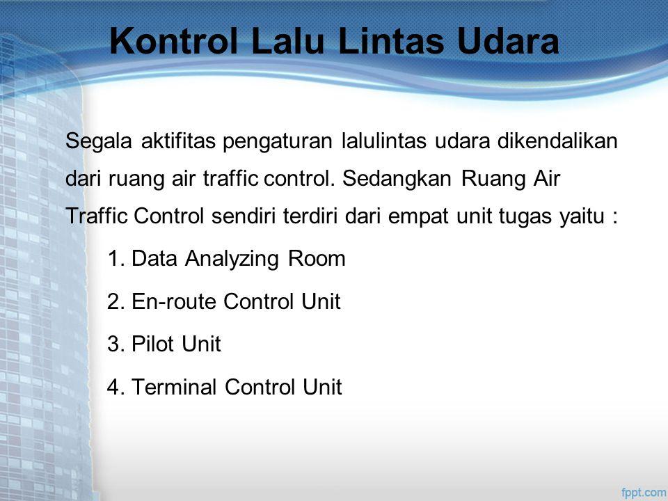 Kontrol Lalu Lintas Udara