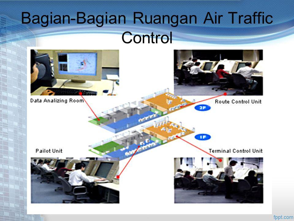 Bagian-Bagian Ruangan Air Traffic Control