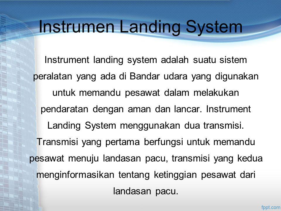 Instrumen Landing System