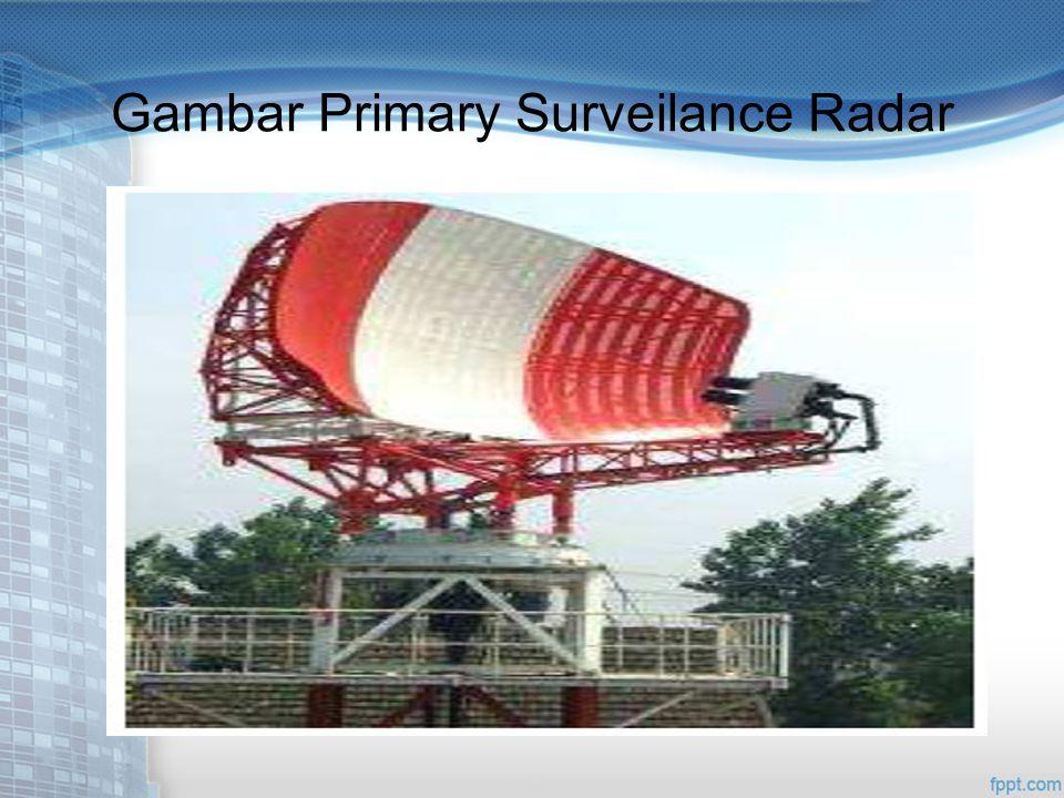 Gambar Primary Surveilance Radar