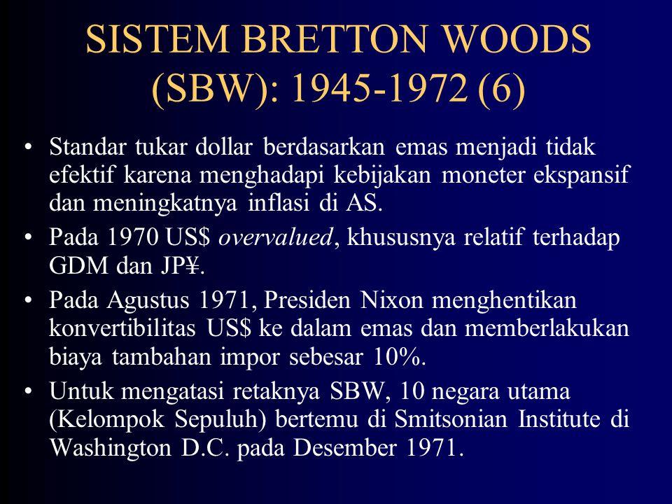 SISTEM BRETTON WOODS (SBW): 1945-1972 (6)