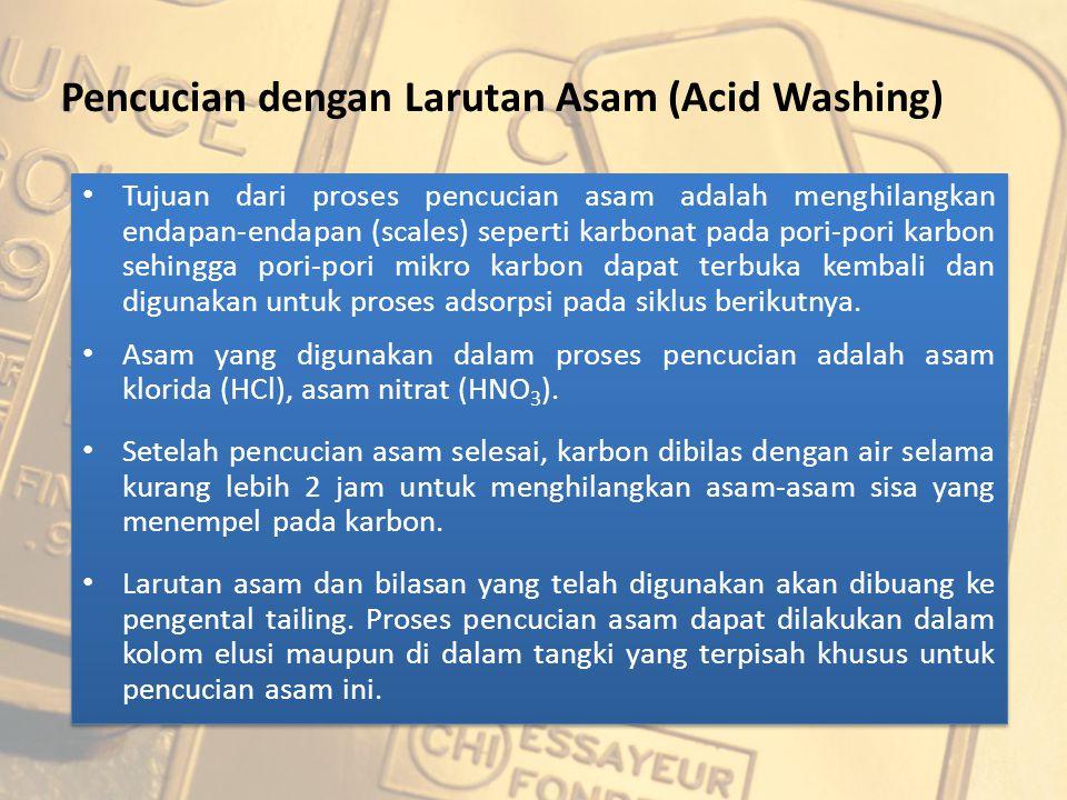 Pencucian dengan Larutan Asam (Acid Washing)