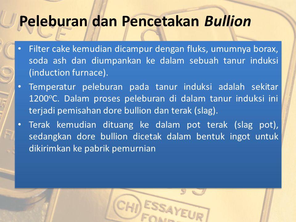 Peleburan dan Pencetakan Bullion