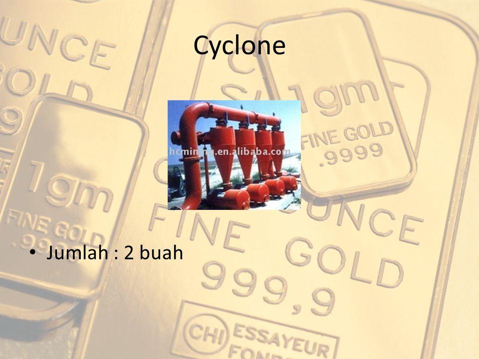 Cyclone Jumlah : 2 buah
