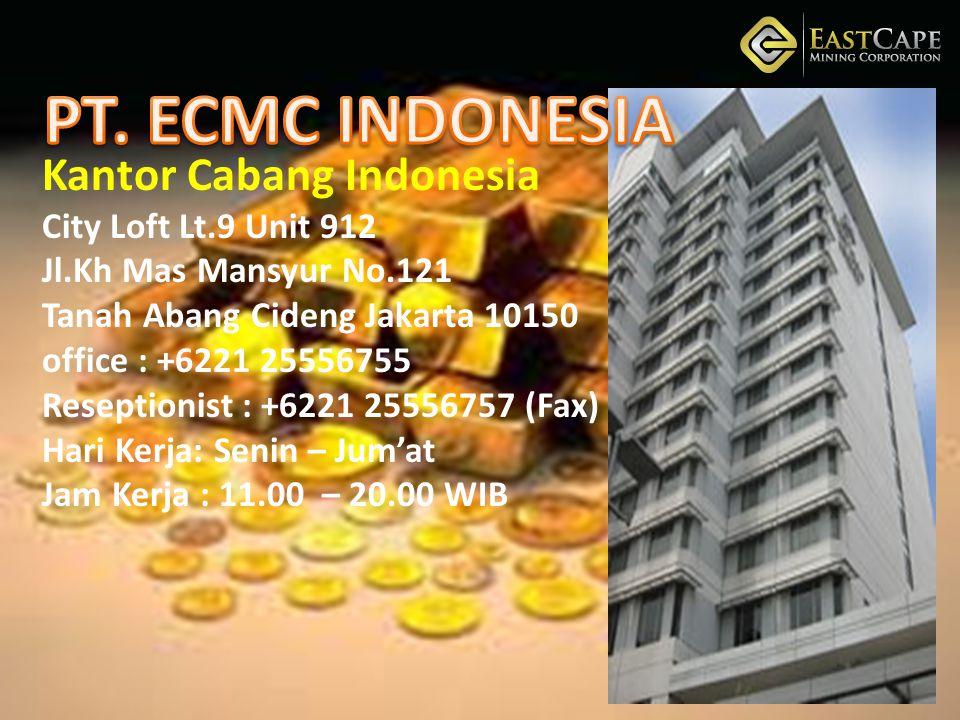 Kantor Cabang Indonesia City Loft Lt. 9 Unit 912 Jl. Kh Mas Mansyur No