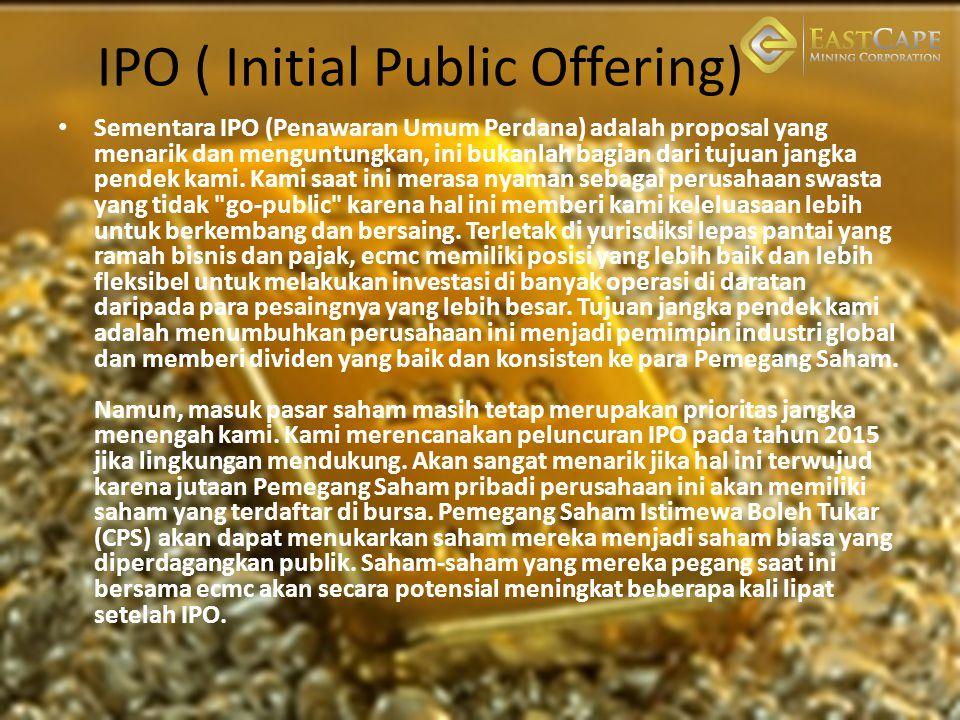 IPO ( Initial Public Offering)