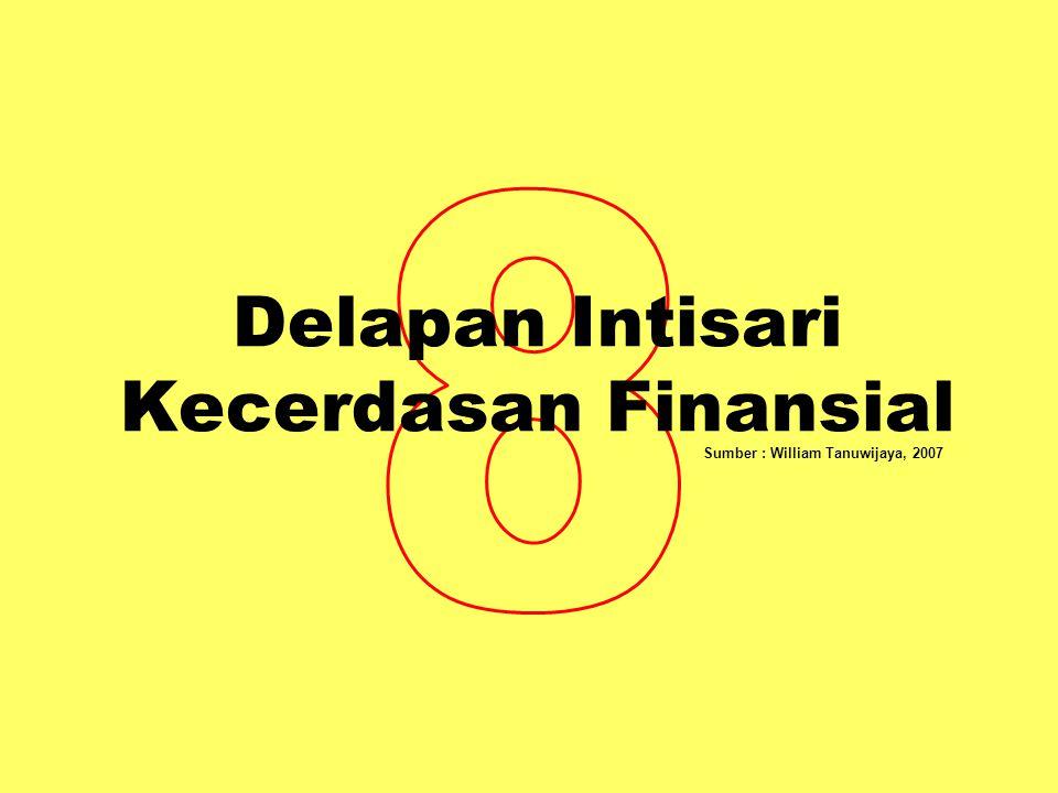 Delapan Intisari Kecerdasan Finansial