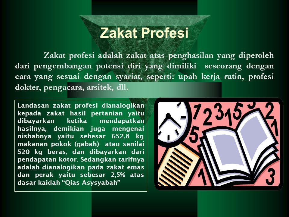 Zakat Profesi