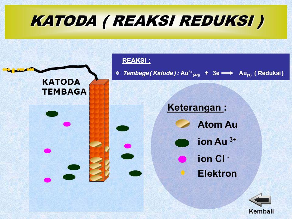 KATODA ( REAKSI REDUKSI )