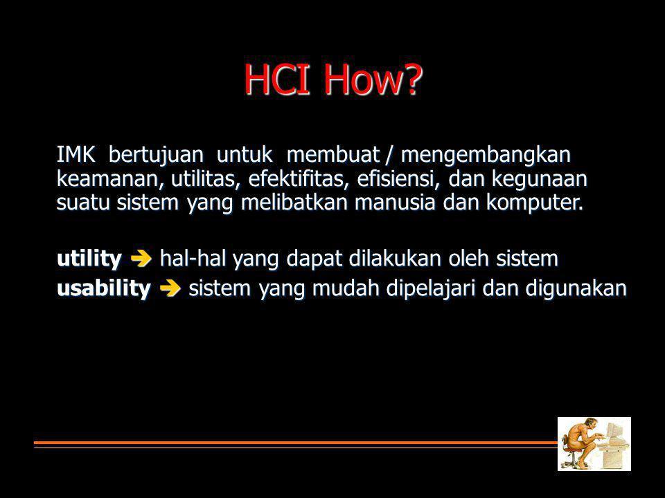 HCI How