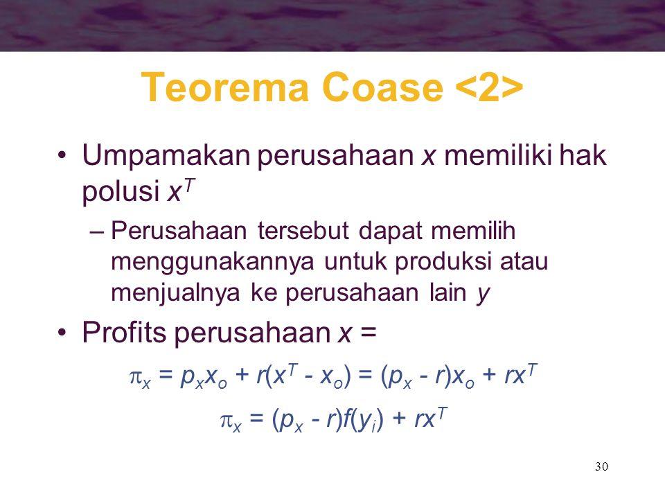 Teorema Coase <2>