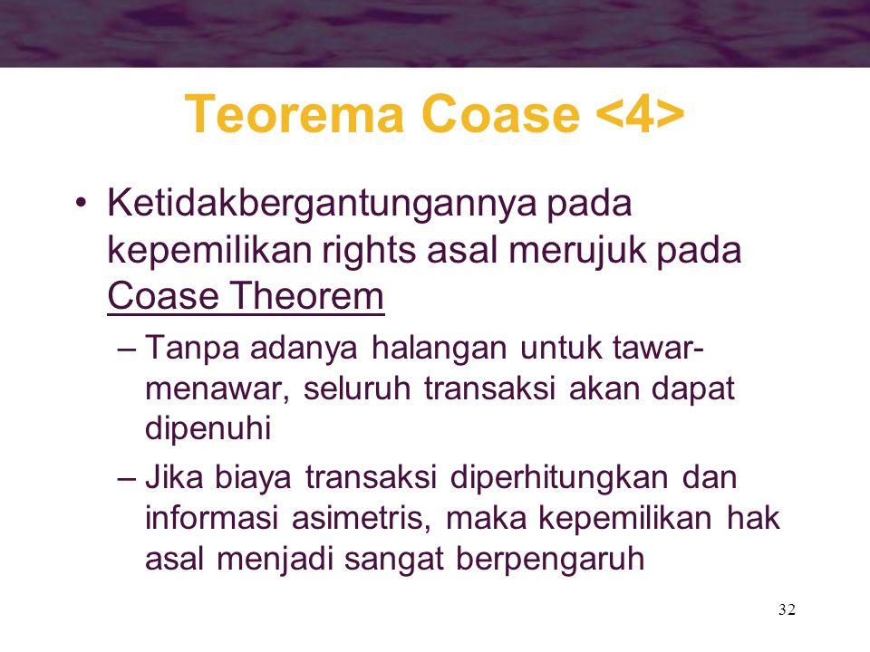 Teorema Coase <4>