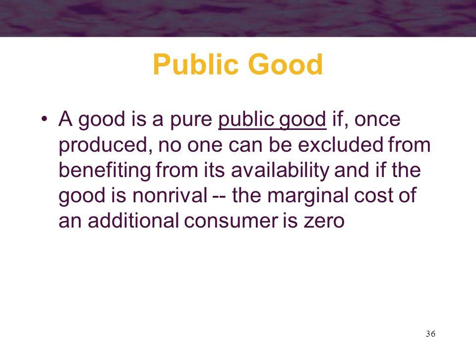 Public Good