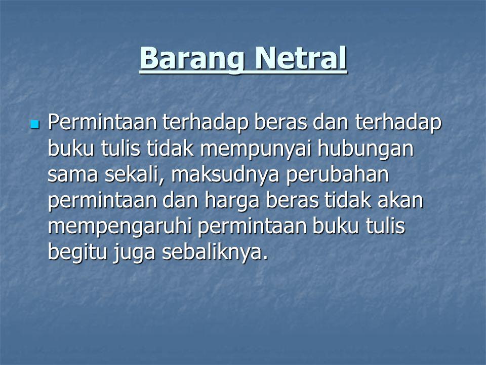 Barang Netral