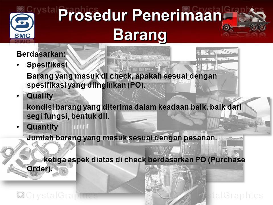 Prosedur Penerimaan Barang