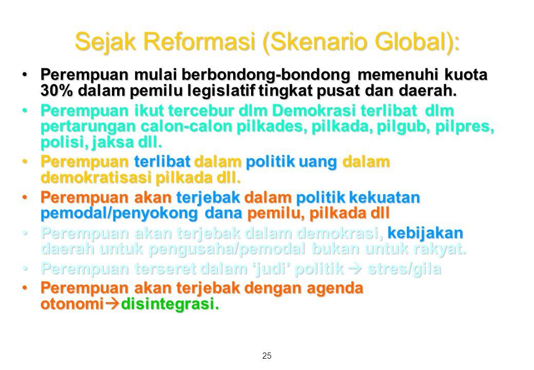 Sejak Reformasi (Skenario Global):