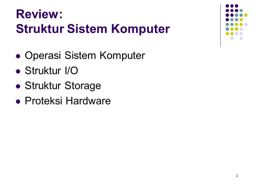 Review: Struktur Sistem Komputer