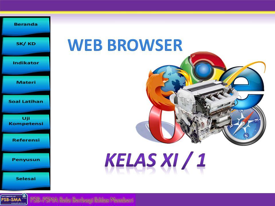 WEB BROWSER Kelas XI / 1
