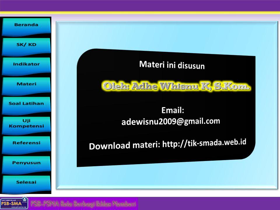 Download materi: http://tik-smada.web.id