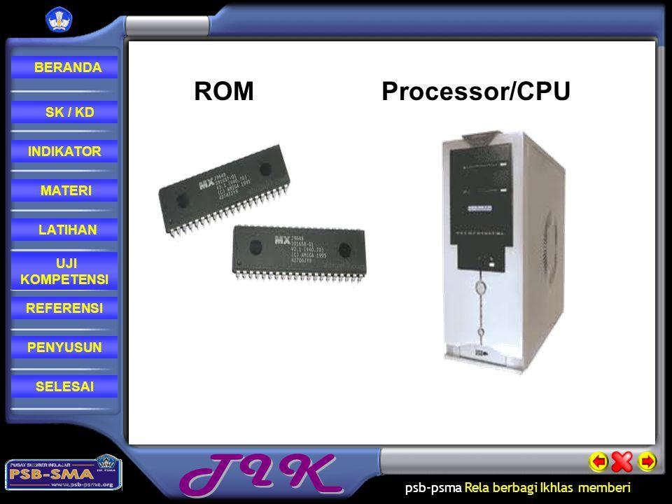 ROM Processor/CPU