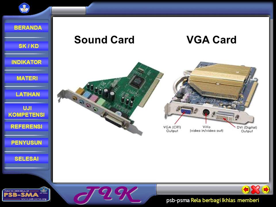 Sound Card VGA Card